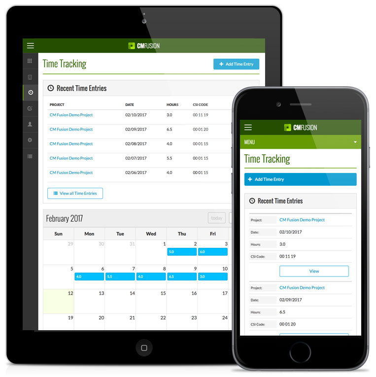 Construction Time Tracking Software